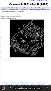 100 2004 cayenne service manual 2004 porsche cayenne u2013