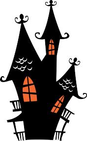 halloween spooky house clip art halloween haunted houses clipart