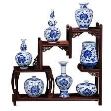 porcelaine peinte main online get cheap chinois porcelaine vases bleu blanc petit