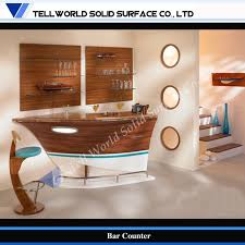 China Fancy Boat Style Small Home Modern Bar Counter Design