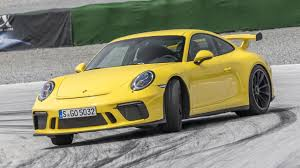 porsche yellow porsche 911 gt3 review new manual 4 0 litre driven top gear