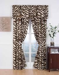 Zebra Print Curtain Panels Zebra Sheer Curtain Panels Surprising Ancoti Com