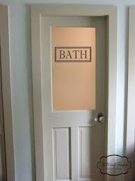 Bathroom Door Ideas Best 25 Glass Bathroom Door Ideas On Pinterest Tub Intended For