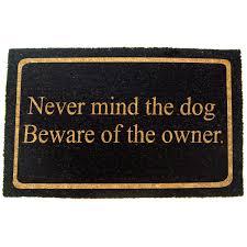 dirty dog doormata floor runner red fabric outdoor doormat