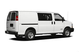 2011 chevrolet express 3500 minivan van work van rear wheel drive