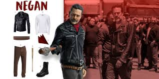 spirit halloween straight jacket dress like negan costume halloween and cosplay guides