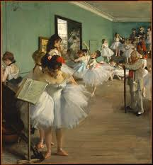 edgar degas the dance class the met