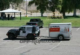 jeep wrangler cargo trailer wrangler jl spied towing a trailer wrangler jl forum