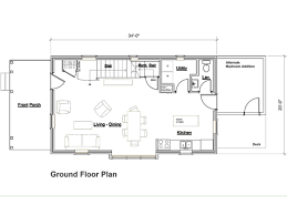 Country Farmhouse Floor Plans by Main Floor Plan 20x34 Home Ideas Pinterest Smallest House