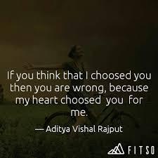aditya vishal rajput quotes yourquote