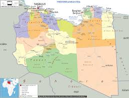 Map Of Al Detailed Clear Large Map Of Libya Ezilon Maps