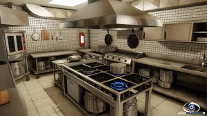 industrial kitchen industrial kitchen by felipe soares image cryengine developers