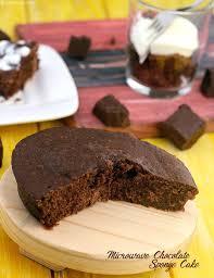 microwave chocolate sponge cake recipe microwave cake recipe