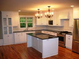 Kitchen Cabinets Without Handles Kitchen Room Design Delightful White Painted Wood Kitchen