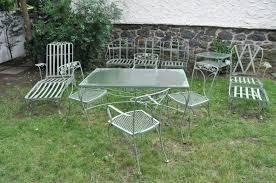 Outdoor Metal Patio Furniture Vintage Metal Outdoor Furniture Fashioned Metal Patio Chairs