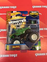 monster jam monster trucks toys jurassic attack 5 10 creatures 2017 wheels monster jam case e