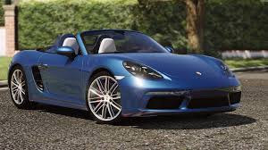 porsche car 2016 porsche 718 boxster s add on replace gta5 mods com