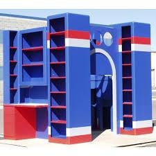 navy blue bookcase american hwy idolza
