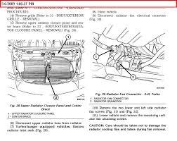 chrysler pt cruiser radiator fan how to replace a fan on an 04 pt cruiser
