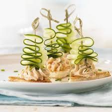 cuisiner les l umes autrement canapé à la mousse de saumon et concombre apéro dinatoire