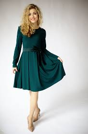 green dress green dress sleeve dresses for women fit and flare