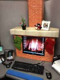 Office Desk Decoration Best 25 Christmas Cubicle Decorations Ideas On Pinterest Office