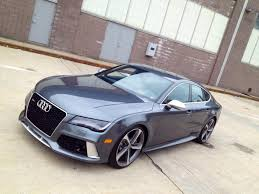sporty audi 2014 audi rs7 is a 560 horsepower ultra luxury performance sedan