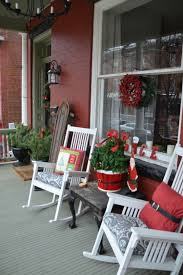 christmas christmas front porchcorating rustic ideas