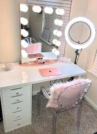 mirrored makeup vanity table desk with mirror image of white vanity desk with mirror desktop