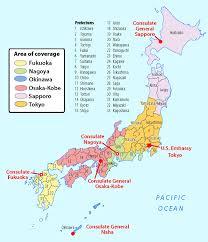 map us japan consulates centers embassy of the united states tokyo japan