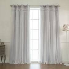 Lilac Curtains Buy Lilac Curtain Panels From Bed Bath Beyond
