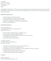 Electrician Apprentice Resume Examples by Apprenticeship Construction Resume Sample Free Word Format