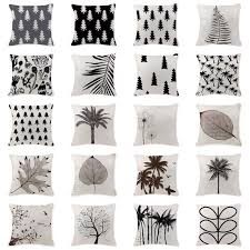 own photo cushion scandinavian pine tree pillow cover outdoor