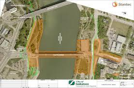 Saskatoon Canada Map by North Commuter Parkway And Traffic Bridge Saskatoon Ca