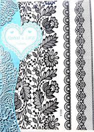 amazon com leg thigh garter tattoos elegant black lace tattoo