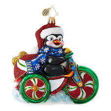 christopher radko ornaments radko animal cool tricycle 1019029