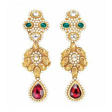 gold earrings online gold earrings for women buy gold earrings online chintamanis