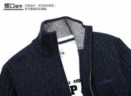new winter plus size mens sweaters men thick long sleeve wool