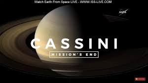 did you watch cassini u0027s live as it entered saturn u0027s atmosphere