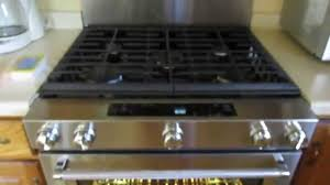 Kitchenaide Cooktop Kitchenaid 30 In 5 8 Cu Ft Slide In Gas Range With Self