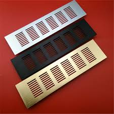 plastic vents for cabinets 4pcs lot premintehdw 80mm wide aluminum air vent ventilator grille