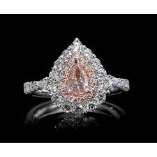 light pink engagement rings carat ring with fancy light pink gia