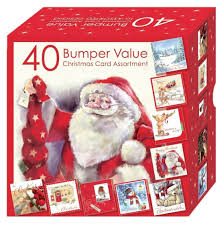 boxed christmas cards sale christmas cards bumper box 40 assorted cards 10 designs