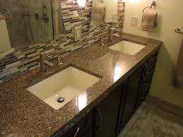 Bathroom Vanity Granite Countertop Extraordinary Fantastic Solid Surface Bathroom Vanity Tops Top