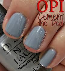 opi cement the deal free shipping at nail polish canada