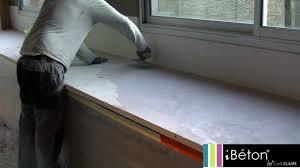 plan de travail cuisine beton application béton ciré ibéton by cyril
