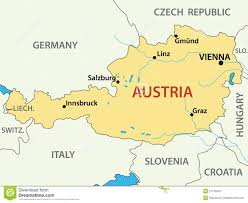 Map Of Germany And Austria by Map Of Austria World Map