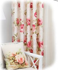 Better Homes And Garden Curtains Red Floral Better Home And Gardens Curtains
