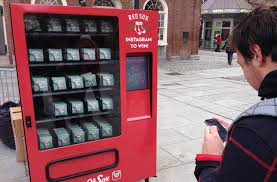 Boston Red Sox Home Decor by Social Media U0027 Vending Machine Gives Out Free Red Sox Tickets