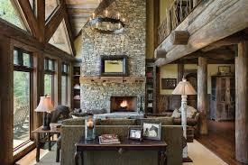 Blue Ridge Georgia Log Home Cabin By PrecisionCraft - Post beam home designs